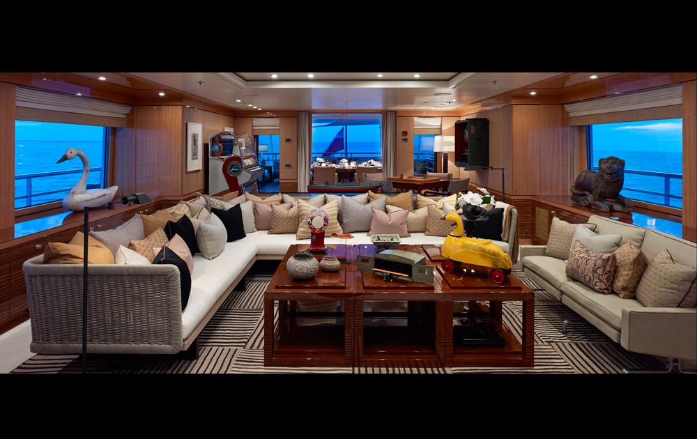 Yacht BELLE AIMEE -  Upper Deck Lounge
